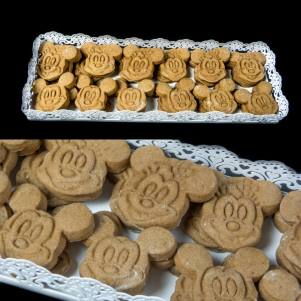 Galletas de chocolate de Mickey y Minnie Mouse
