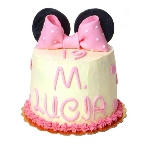 Tarta Lazo Minnie Mouse