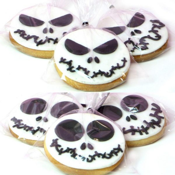 Galletas Jack Skellington